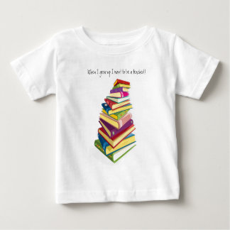 pile of color books baby T-Shirt