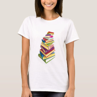 pile of color books T-Shirt