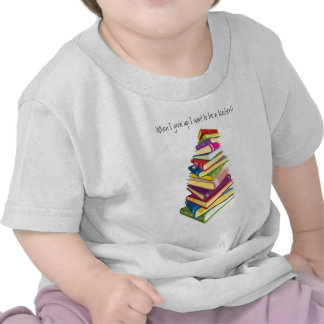 pile of color books tshirt
