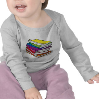 Pile of Colorful Books T-shirt