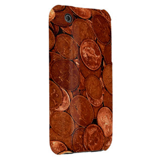 Pile of Copper Coins Novelty iPhone 3G/3GS Case iPhone 3 Cases