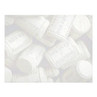 Pile of corks letterhead