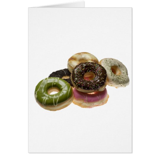 Pile of donuts card