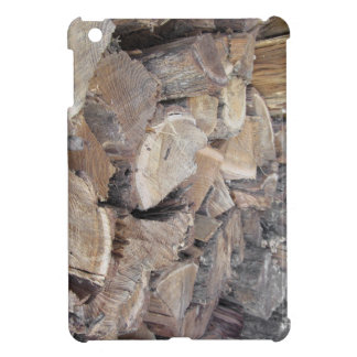 Pile of firewood case for the iPad mini
