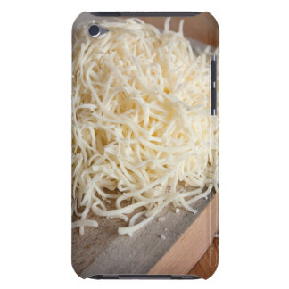 Pile of fresh mozzarella cheese. barely there iPod case