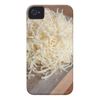 Pile of fresh mozzarella cheese. iPhone 4 Case-Mate case