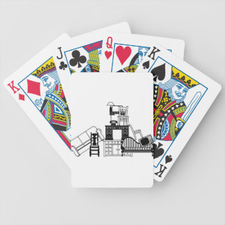 Pile of furniture card decks
