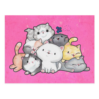 Pile of Kittens Postcard