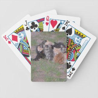 Pile of Kitties Bicycle Poker Cards