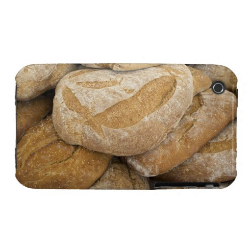 Pile of large bread loaves iPhone 3 Case-Mate case