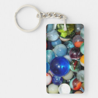 Pile of Marbles Keychain