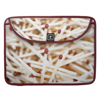 Pile of matches MacBook pro sleeve