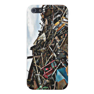 Pile of Metal Junk for Recycling Case For iPhone SE/5/5s