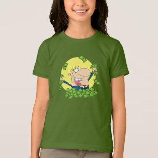 Pile of Money Girls T-Shirt