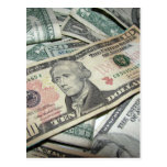 Pile of Money Postcard