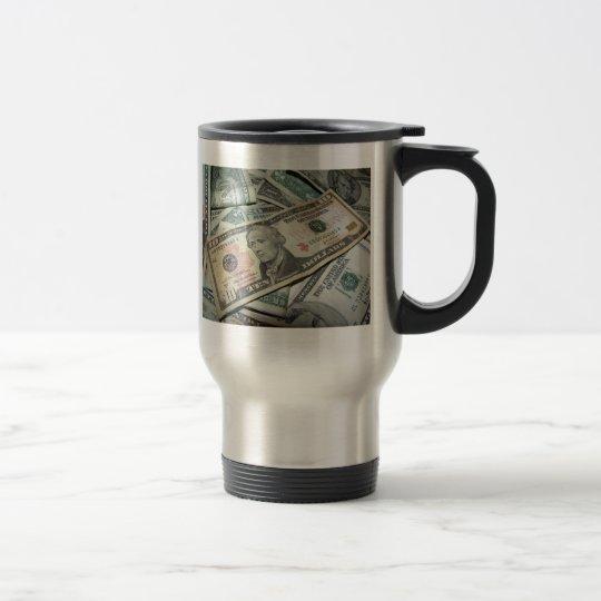 Pile of Money Travel Mug