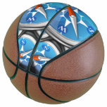 Pile of Nautical Compasses Basketball