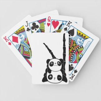 Pile of Pandas Bicycle Playing Cards