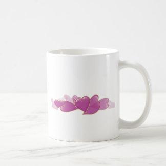 Pile of Pink Hearts Mugs