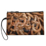 Pile of Rusty Chains; 2013 Calendar Wristlet Clutch