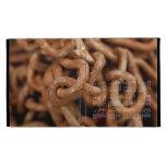Pile of Rusty Chains; 2013 Calendar iPad Folio Cover