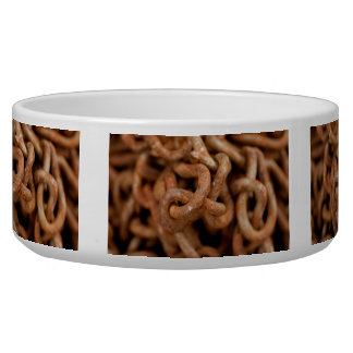 Pile of Rusty Chains Bowl
