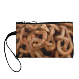 Pile of Rusty Chains Coin Wallet