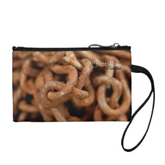Pile of Rusty Chains; Customizable Change Purse