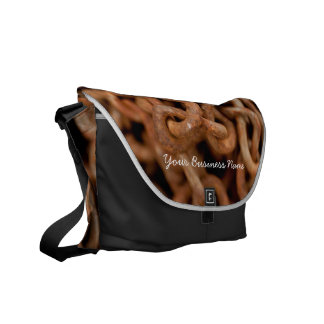 Pile of Rusty Chains; Promotional Messenger Bags
