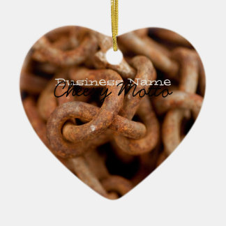 Pile of Rusty Chains; Promotional Ornaments