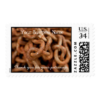 Pile of Rusty Chains; Promotional Postage