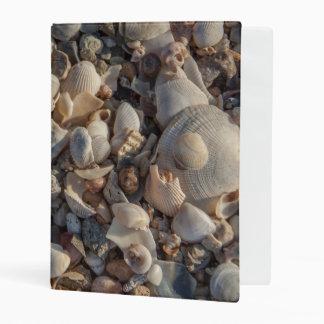 Pile Of Seashells Mini Binder