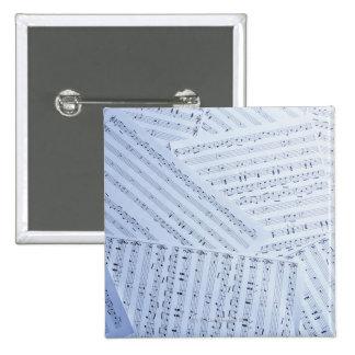 Pile of Sheet Music Pins