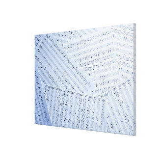 Pile of Sheet Music Canvas Print