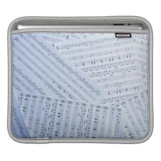 Pile of Sheet Music iPad Sleeve