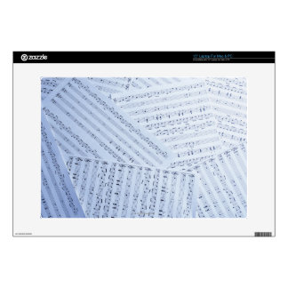 Pile of Sheet Music Laptop Decal