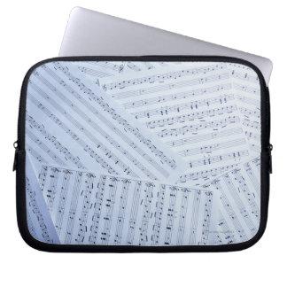 Pile of Sheet Music Laptop Sleeve