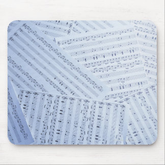 Pile of Sheet Music Mouse Pad