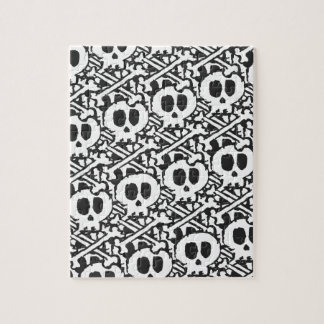 Pile of Skulls Jigsaw Puzzle