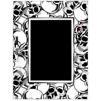 Pile of Skulls Red Eye ID222 Dry-Erase Board