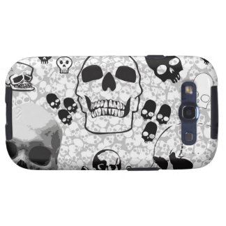 Pile of Skulls Samsung Case Galaxy S3 Cover