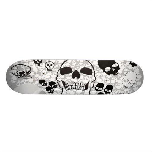 Pile of Skulls Skateboard
