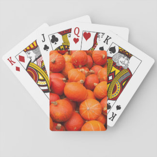 Pile of small pumpkins, Germany Playing Cards
