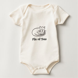Pile of Toes for babies Baby Bodysuit