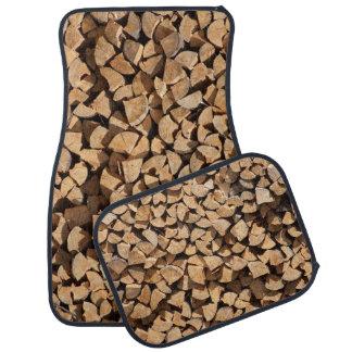 Pile Of Wood Floor Mat