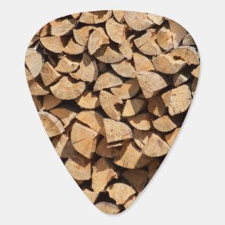 Pile Of Wood Guitar Pick