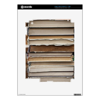 PILE OLD BOOKS DIGITAL PHOTOGRAPHY GRAPHICS STUDY SKINS FOR THE iPad 2