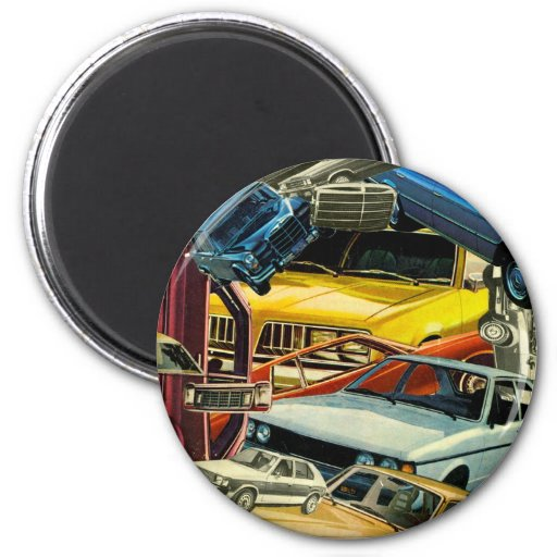 Pile Up! 2 Inch Round Magnet