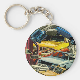 Pile Up! Keychain