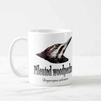 Pileated Woodpecker Classic White Coffee Mug